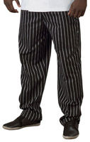 Chalk Stripe Baggy Pants