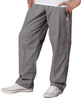 Small Check Baggy Pants