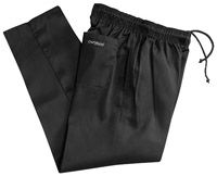 Chef Pants Durban - Plain Black Baggy